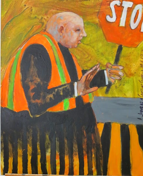 """Scotus Crossing Guard"" Art | C.A.S.H. Art ""all things artistic"""