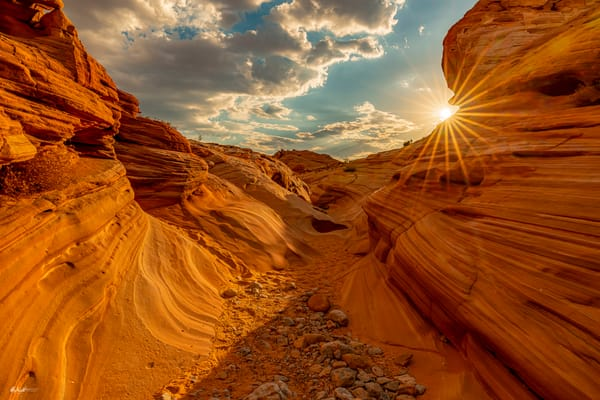 Valley of Fire Sunburst