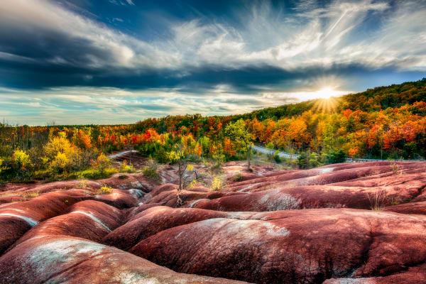Badlands Sunset Photography Art | Trevor Pottelberg Photography