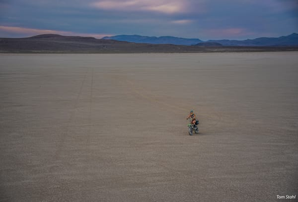 Solo Biker, 2016. Photography Art | Tom Stahl Photography