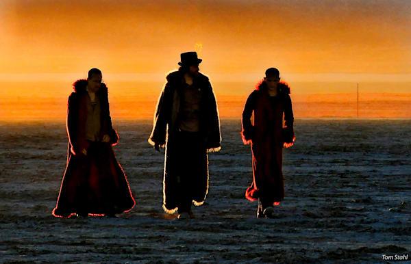 Sunrise Deep Playa Walk, 2010. Photography Art | Tom Stahl Photography