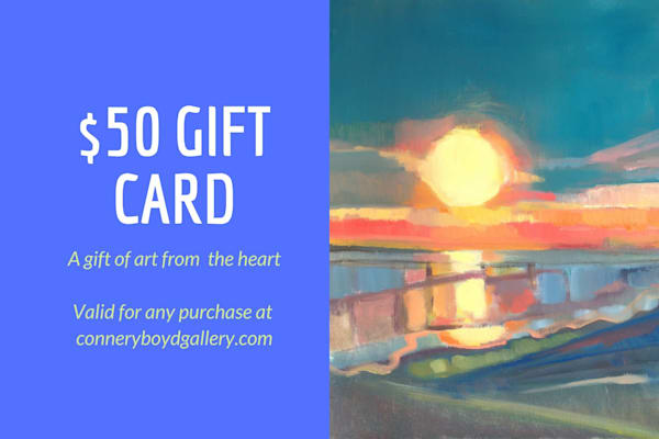 Gift Card $50 | Peg Connery-Boyd Artwork