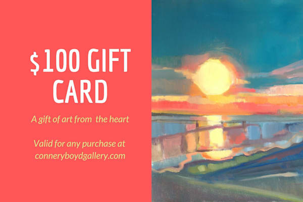 Gift Card $100 | Peg Connery-Boyd Artwork