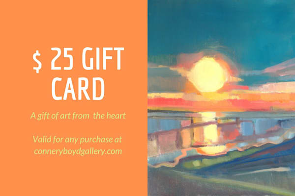 Gift Card $25 | Peg Connery-Boyd Artwork