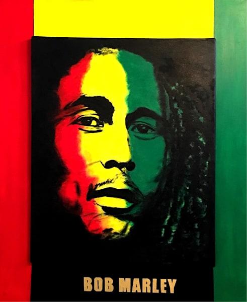 Bob Marley One Love Original Artwork