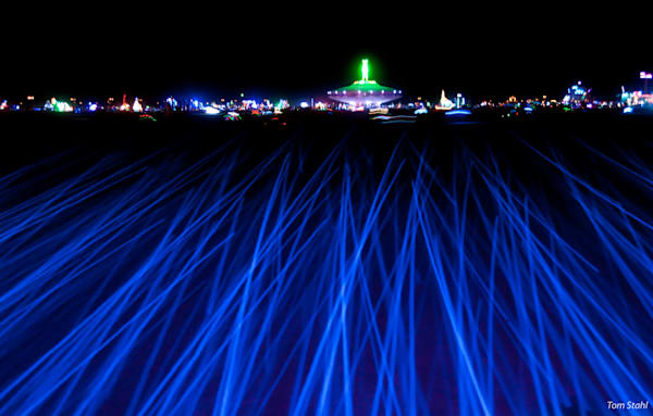 Blue Lights At Night, 2013. Photography Art | Tom Stahl Photography
