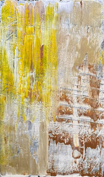 Slip Slide abstract acrylic painting