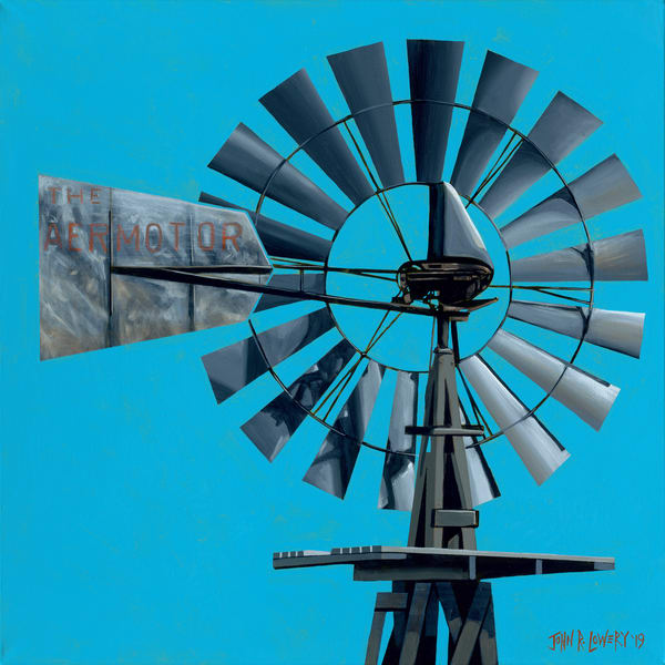 Windmill paintings by John R. Lowery for sale as art prints.