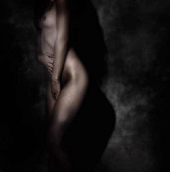 Chloe Dark Figure Photography Art | Dan Katz, Inc.