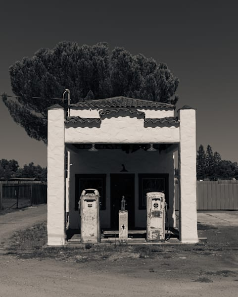 Ancient Service Station Windsor Ca Photography Art | Dan Katz, Inc.
