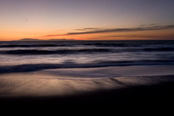 Sunset Hollywood Beach 2 Photography Art | Dan Katz, Inc.