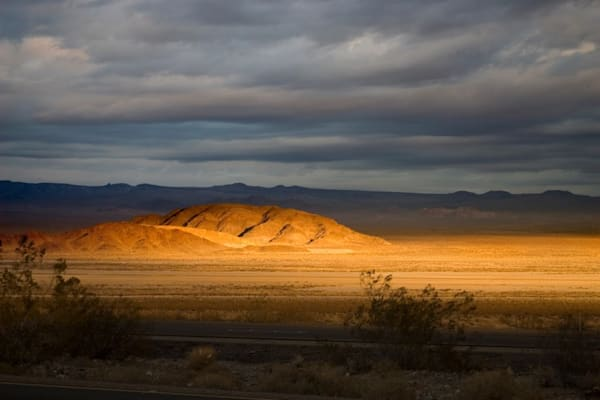 Nevada Desert At Sunset2 Photography Art | Dan Katz, Inc.