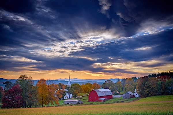 October Sky in Peacham, Vermont | Shop Photography by Rick Berk