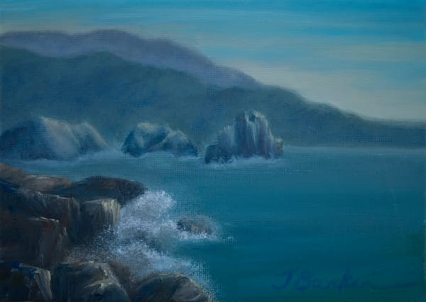 Ocean Mist Art by janetarlinebarker.com