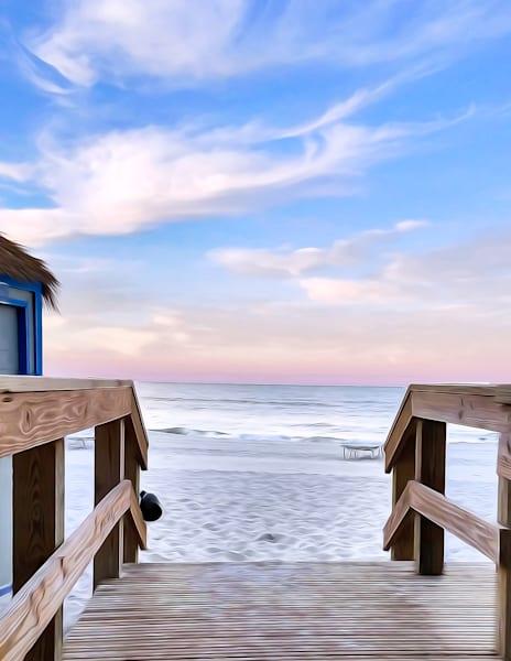 Beach Ocean Water Seagull Sand waves