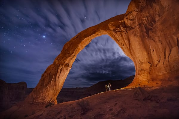 Under the Stars - Corona Arch