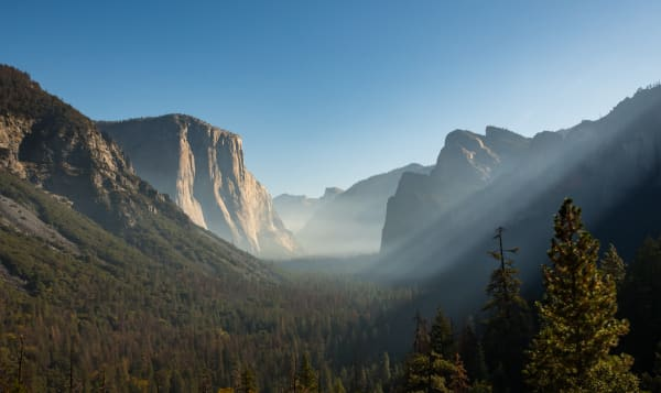 Smoky Yosemite