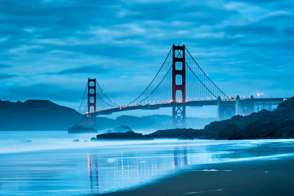 Golden Gate Bridge Evening - San Francisco