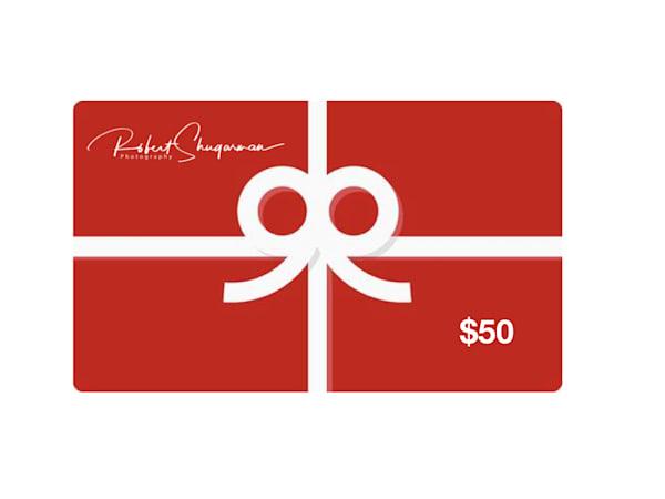 $50 Gift Card | Robert Shugarman Photography