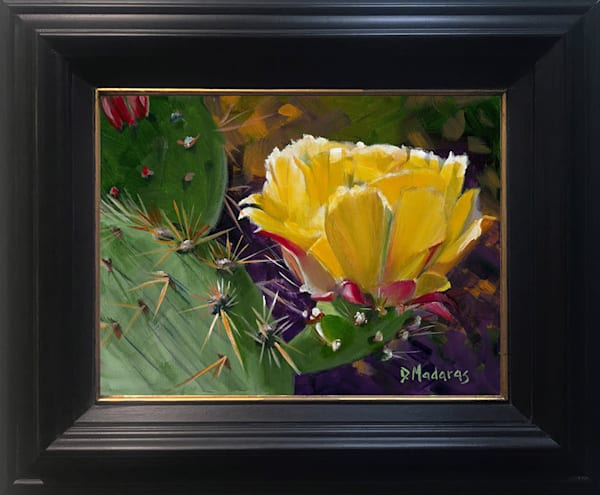 Prickly Pear Show Mini Framed