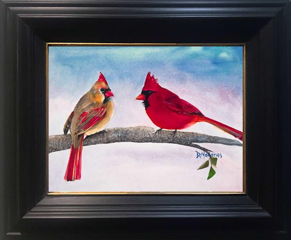 Cardinals Framed Wall Art