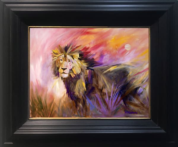 King of Sandibe by Diana Madaras | Tucson Art Gallery