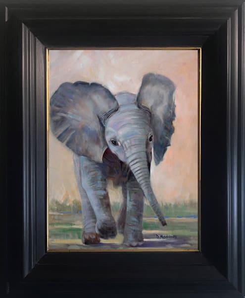 Little Nandi Framed Canvas