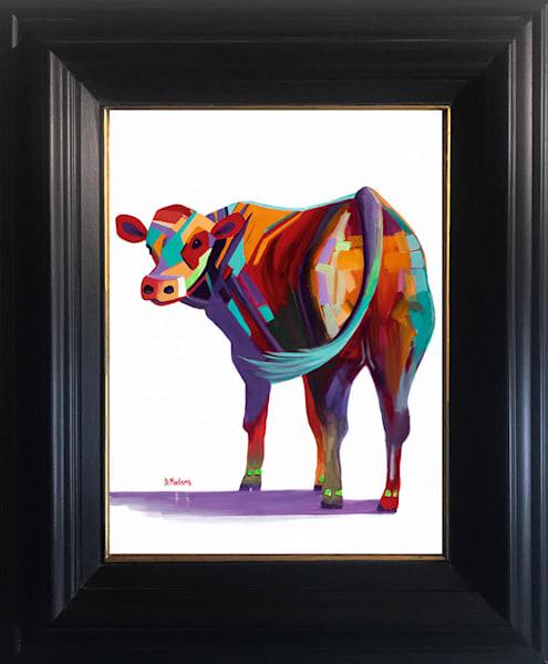 Barney Show Mini Cow Canvas