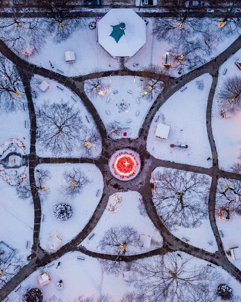 Central Park Of Johnstown Art | Brandon Hirt Photo