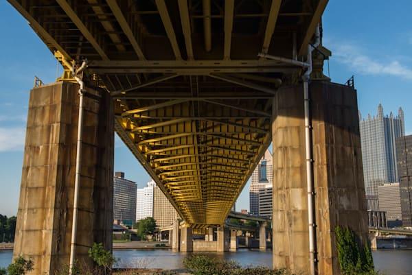 Pittsburgh Bridge Art   Brandon Hirt Photo