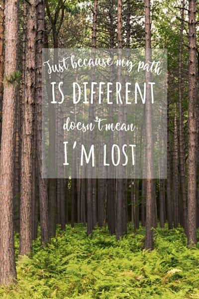 Different Path Art | Brandon Hirt Photo