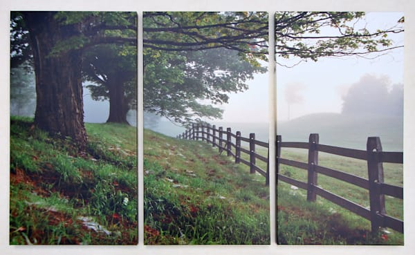 """Pastoral Distance"" - XL Triptych"