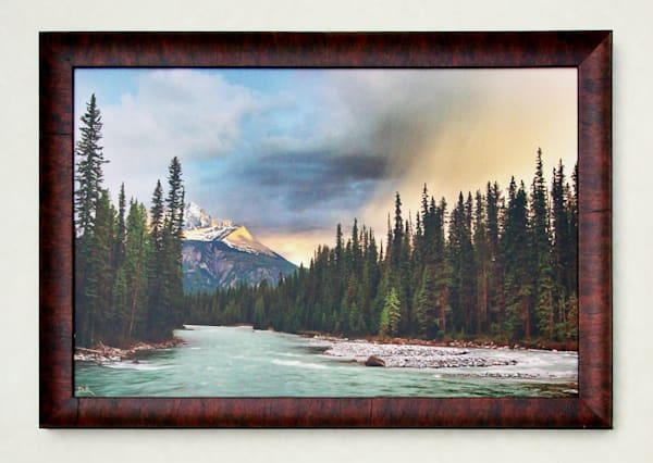 """Twilight's Last Gleaming"" - Mounted & Framed"