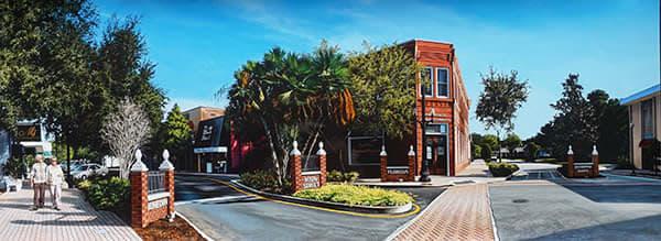 """Kevin Grass's """"Downtown Dunedin"""" matte photo print"""