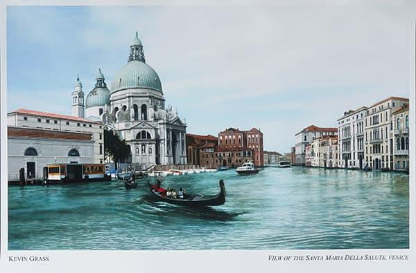Venice glossy print by Kevin Grass