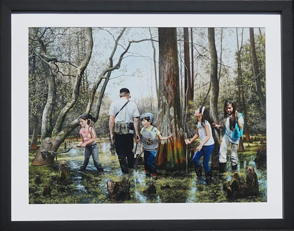 Expedition print by artist Kevin Grass