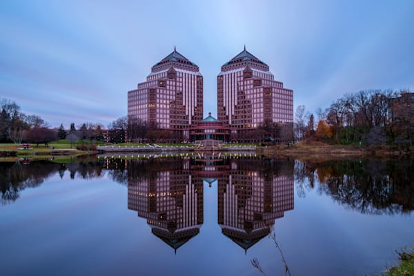 Carlson Towers Reflections - Minneapolis Pictures | William Drew Photography