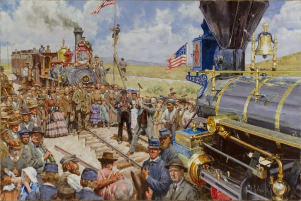 Trains and Railroading Paintings and Prints by Bradley Schmehl