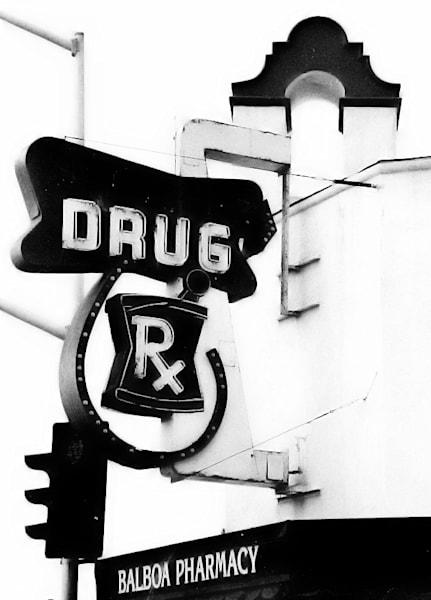 Balboa Drug Photography Art | Rosanne Nitti Fine Arts
