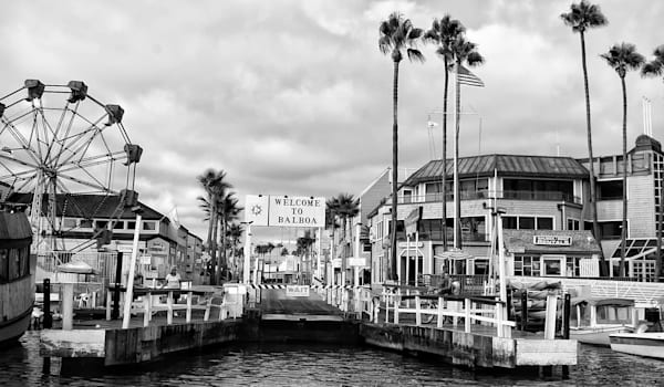 Balboa Island Welcomes You Photography Art | Rosanne Nitti Fine Arts