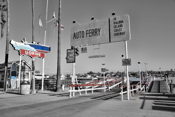 Balboa Ferry Photography Art | Rosanne Nitti Fine Arts