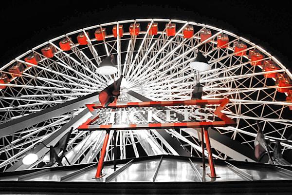 Ferris Wheel Tickets Bw Photography Art   Rosanne Nitti Fine Arts
