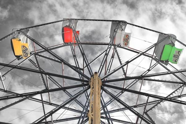 Irvine Wheel B Wcolor Photography Art   Rosanne Nitti Fine Arts