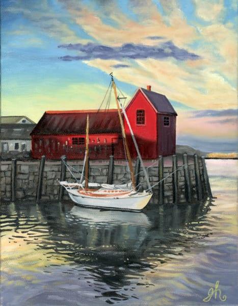 Rockport Red Barn Art | De'Ago Art