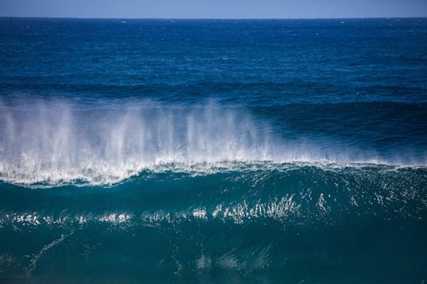 Empty waves in Hawaii