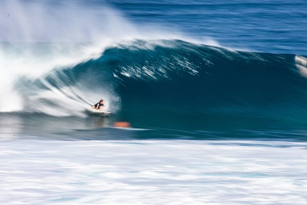 Surfing Speed Blur