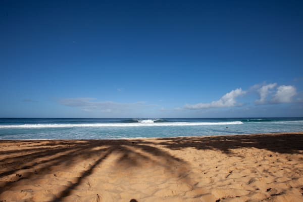 Beached at Pipeline