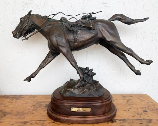 War Horse Bronze Sculpture | Madaras Gallery
