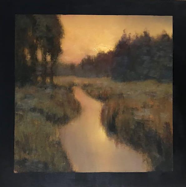 Sold   Wetland Series 2019 #1 12x12   Sold Art | Michael Orwick Arts LLC