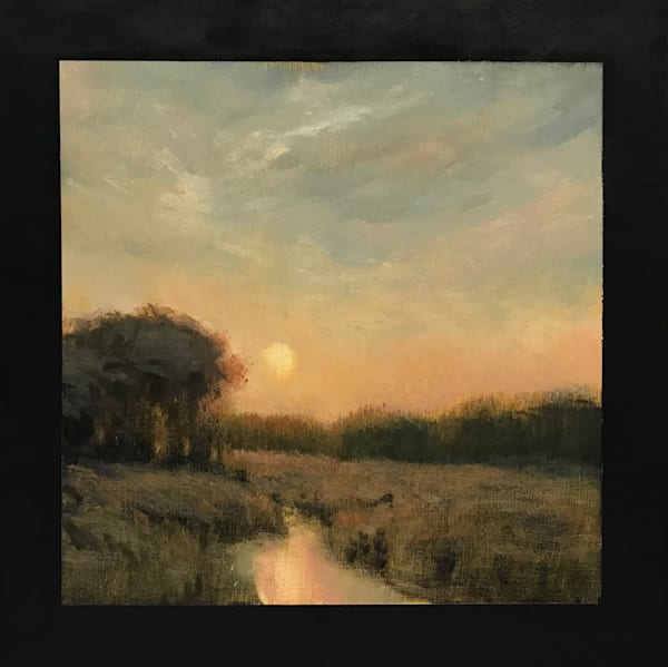 Sold   Wetland Series 2019 #3 10x10   Sold Art | Michael Orwick Arts LLC